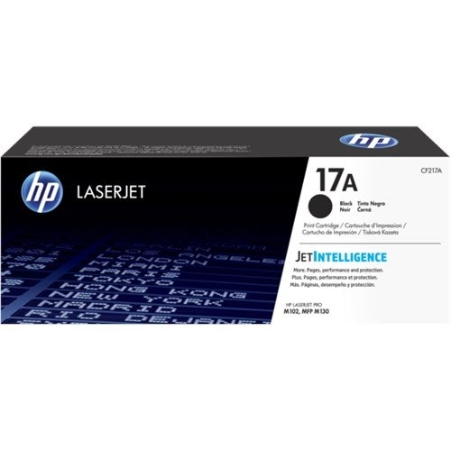 HP 17A Original Black Toner Cartridge (Single Pack) Toner Cartridge