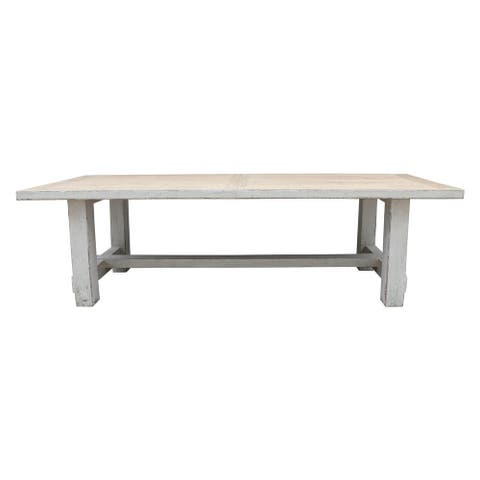 Lily's Living Amalfi Wooden Dining Table, 110 Inch Long - 110 Inch Long