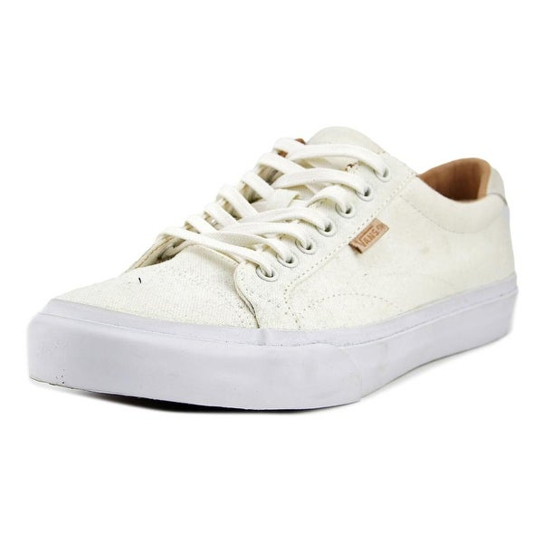 Vans Court + Men (Washed Canvas) Marshmallow Tennis Shoes