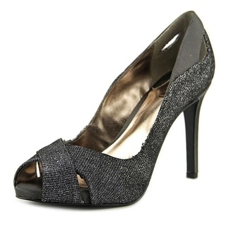 Alfani Lyrra Peep-Toe Synthetic Heels