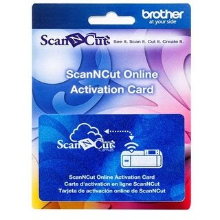 Brother Sewing Cawlcard1 Wireless Online Activation Card