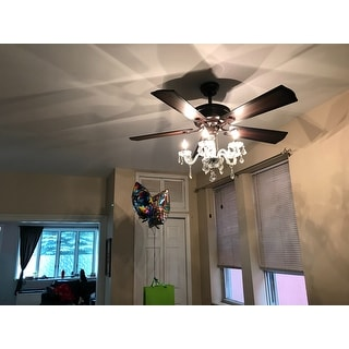 Shop Warehouse Of Tiffany Havorand 52 Inch 5 Blade Ceiling