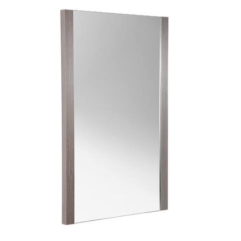 """Fresca Torino 21"""" Espresso Mirror"""