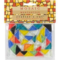 "Crafters Cut Sheeted 4""X3"" Tiles-Crystal A-Assorted"