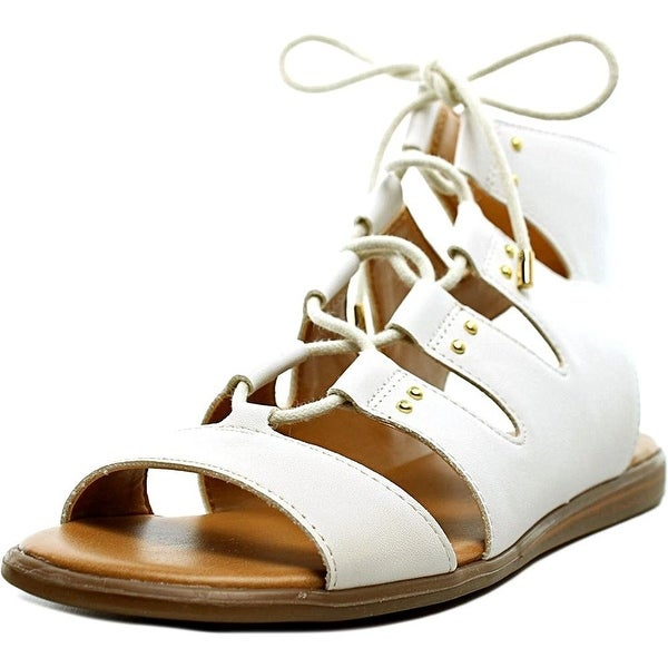 Tommy Hilfiger Women's Beautie, White, Size 8.0