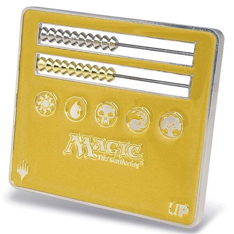 Gold Abacus Life Counter for Magic: The Gathering - multi