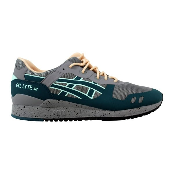check out 63766 3816a Shop Asics Gel Lyte III NS Aluminum/Deep Teal H714N 9658 ...