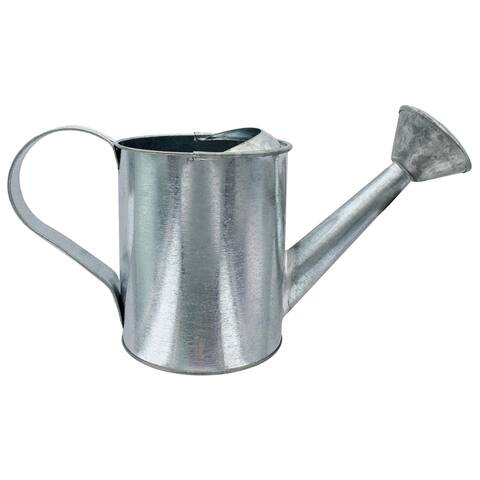 6300 darice watering can round 5x10 galvanized