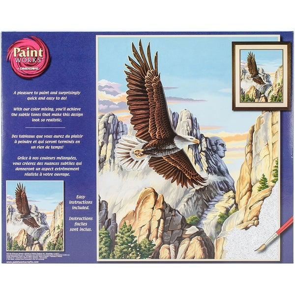 "Paint Works Paint By Number Kit 16""X20""-Soaring Eagle"
