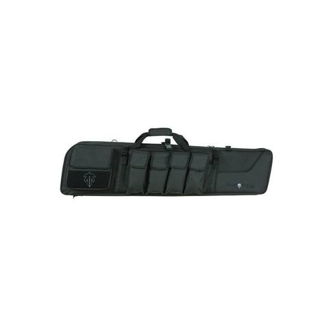 "Tactical Rifle Case Operator Padded Endura Lining 44"" Black"