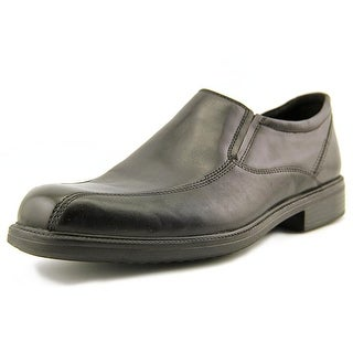 Bostonian Flexlite Bardwell Step Men W Round Toe Leather Black Loafer
