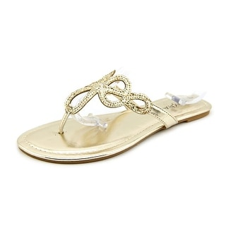 Rampage Triton Open Toe Synthetic Thong Sandal