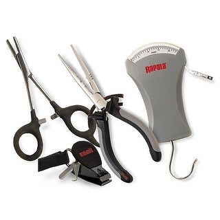 Rapala Combo Pack (Pliers/Forceps/Scale & Clipper/Sheath)