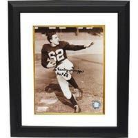 Charley Trippi signed Cardinals 8x10 Photo Custom Framed HOF 68
