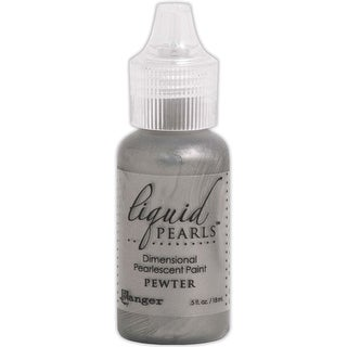 Pewter - Liquid Pearls Dimensional Pearlescent Paint .5Oz