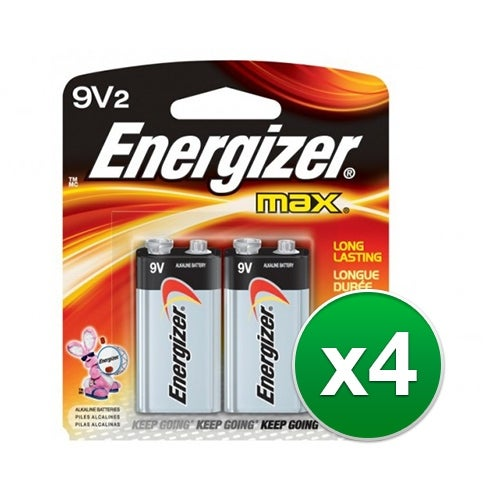 """Replacement Battery for Energizer 522BP 2Pack (4-Pack) Replacement Battery"""