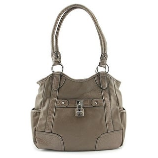 Rosetti Finders Keepers Four Poster Women Synthetic Gray Shoulder Bag