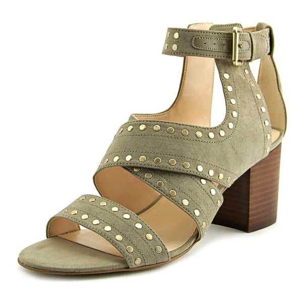 Nine West Josefineo Women Open Toe Synthetic Gray Sandals