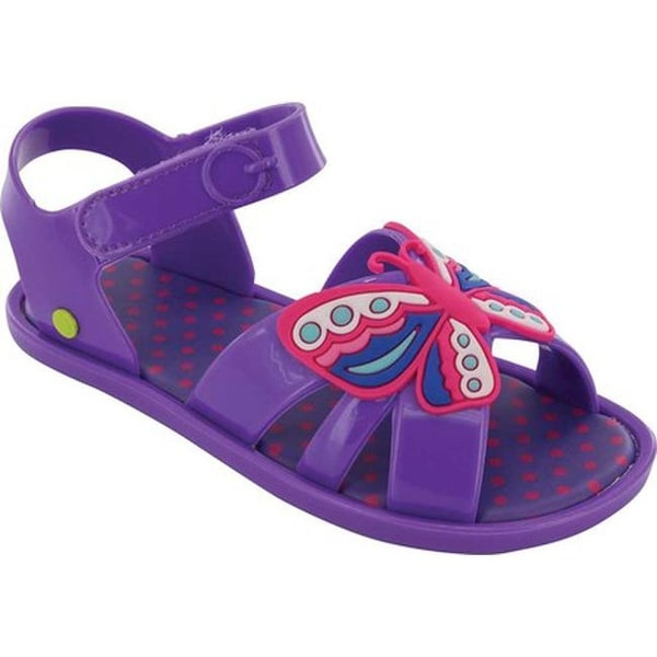 5e8eee4622f0 Shop Western Chief Girls  Sandbox Sandal Purple Butterfly PVC - Free  Shipping On Orders Over  45 - Overstock - 21555982