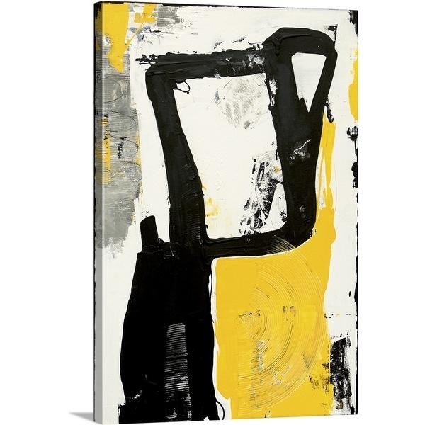 """""""Taxi Hub"""" Canvas Wall Art"""