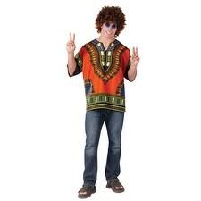 Men's African Shirt International Halloween Costume - standard - one size