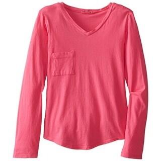 LAmade Girls V-NECK Pocket T-Shirt - 10