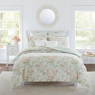 Laura Ashley Madelynn Comforter 7-Piece Set