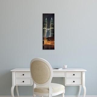 Easy Art Prints Panoramic Images's 'Kuala Lumpur Malaysia' Premium Canvas Art