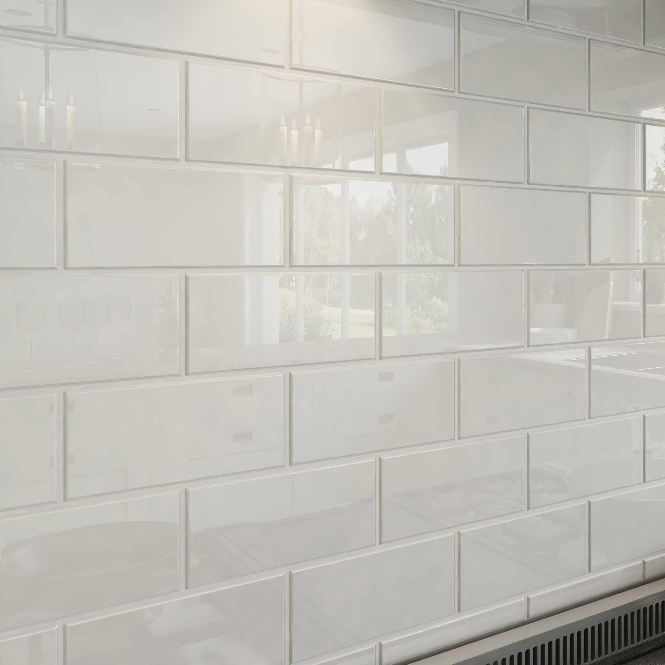 Bright White Subway Tiles 5