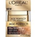 L'Oreal Paris Age Perfect Cell Renewal Night Cream Moisturizer 1.7 oz - Thumbnail 0