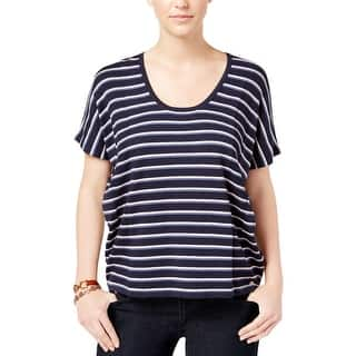 Tommy Hilfiger Womens Dana Pullover Sweater Striped Boxy|https://ak1.ostkcdn.com/images/products/is/images/direct/77f443942fb2078178eda1ef225ec2fb5f7525e1/Tommy-Hilfiger-Womens-Dana-Pullover-Sweater-Striped-Boxy.jpg?impolicy=medium
