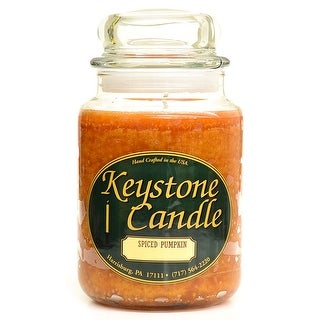 Link to 1 Pc  26 oz Spiced Pumpkin Jar Candles 4 in. diameter x 7 in. tall Similar Items in Decorative Accessories