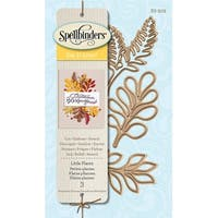 """Spellbinders Shapeabilities Die D-Lites-Little Plants 1.13"""" To 2.4"""""""