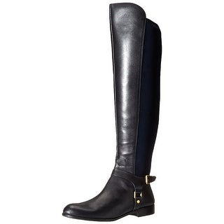 Franco Sarto Womens Mast Almond Toe Over Knee Riding Boots