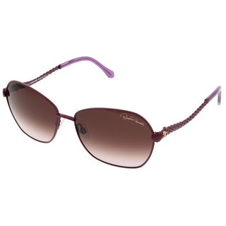 Roberto Cavalli RC 791/S 81T Purple Oval Sunglasses
