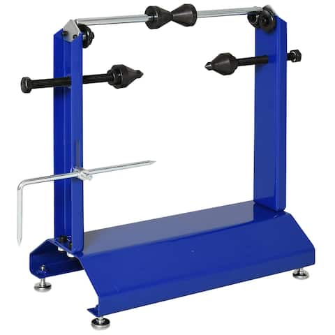 "DURHAND Motorcycle / Bicycle Wheel Balancer and Truing Stand Stabile Stable&Durability, 16""x8.75""x20"""