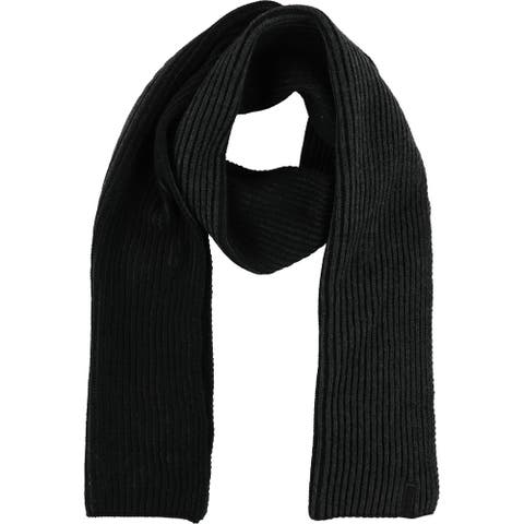 Calvin Klein Mens Colorblocked Scarf, grey, One Size - One Size
