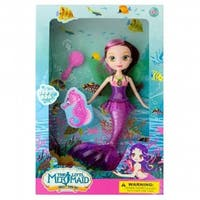 SWM KL19022 Mermaid Doll With Hairbrush