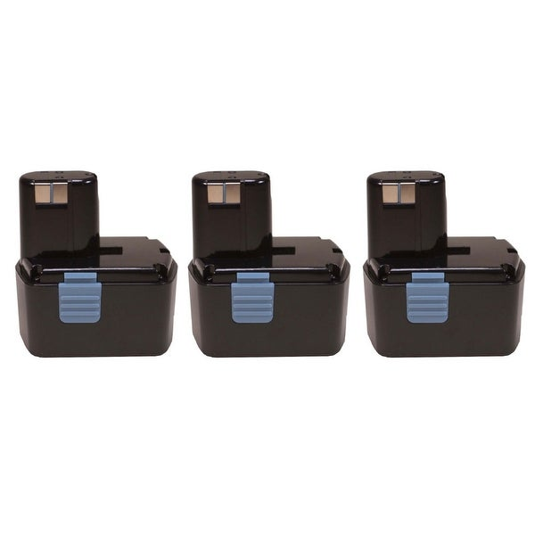 Factory Essentials Replacement for Hitachi EB1414S 2.0Ah 14.4V Power Tool Battery - 3 Pack