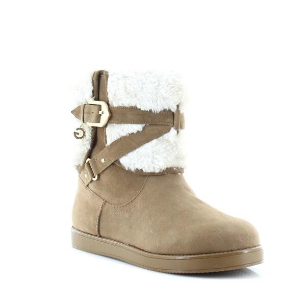 G by Guess Alixa Women's Boots Medium Natural