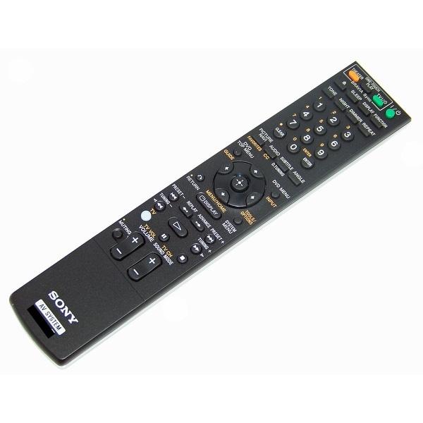 OEM Sony Remote Control Originally Shipped With: DAVIS50W, DAV-IS50W, DAVIS50B, DAV-IS50B, HCDIS50, HCD-IS50