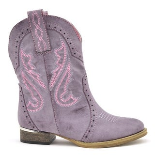 Volatile Girls Asher Cute Western Cowboy Boots