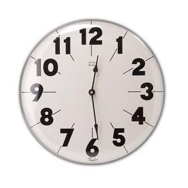 """Taylor 161 Metal Patio Clock, 18"""""""