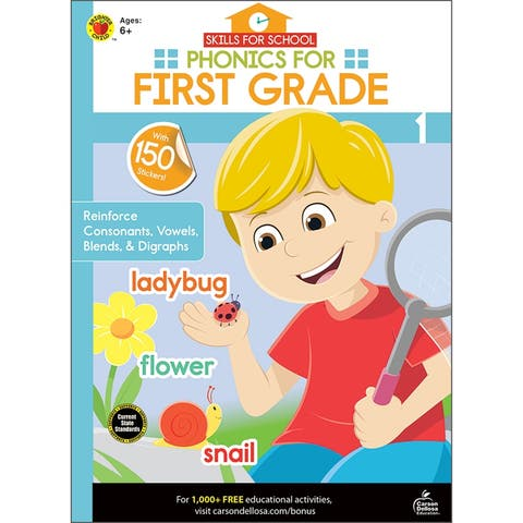 Brighter child phonics for first grade 705312