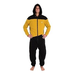 Star Trek: TMG Gold Operations Adult Pajamas Large/X-Large,Small/Medium,XX-Large