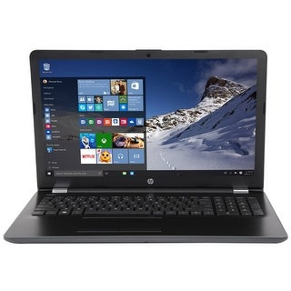 "Refurbished - HP Notebook 15-bs033cl 15.6"" Touch Laptop Intel i3-7100U 2.4GHz 12GB 1TB HDD W10"