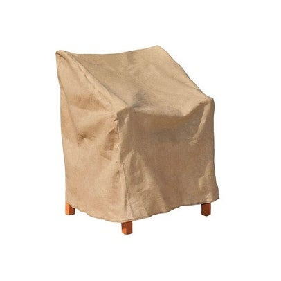 "Budge P1A03SF1-N High Back Chair Cover, Polyethylene, 27"" x 30"" x 36"""