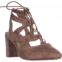 Rialto Milly Lace-up Pump Heels, Desert - 7.5 us