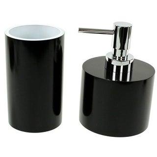 Nameeks YU581 Gedy Bathroom Accessories Set (Option: Orange Finish)