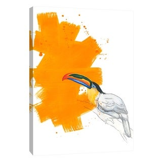 "PTM Images 9-105235  PTM Canvas Collection 10"" x 8"" - ""Toucan"" Giclee Birds Art Print on Canvas"